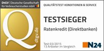 SWK Bank - Testsieger Ratenkredit
