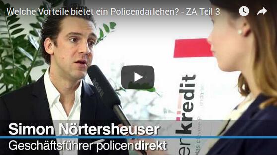Die Vorteile des Policendarlehens – Zweitmarkt Aktuell Interview